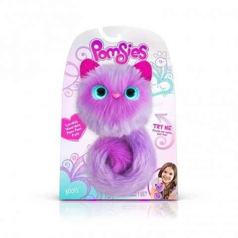 Pomsies Boots, игрушка котенок Помси с сердечком оригинал