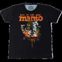 Футболка Manto Bad To The Bone черная