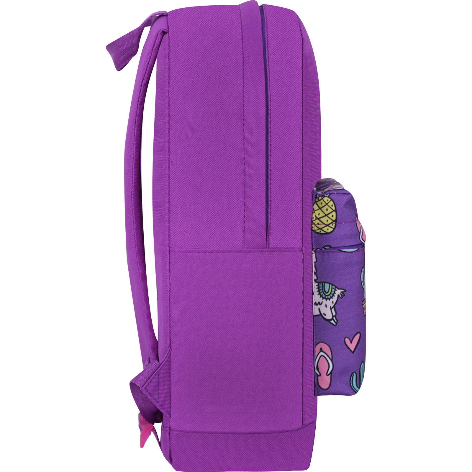 Рюкзак Bagland Молодежный W/R 17 л. 170 Фиолетовый 770 (00533662) фото 2