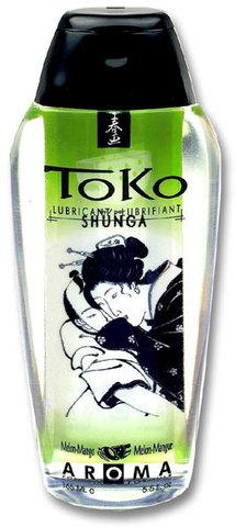 Съедобный лубрикант Shunga с ароматом дыни и манго - 165 мл.