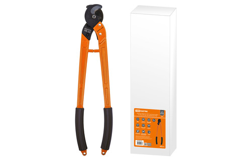 Ножницы кабельные НК-32, для резки кабеля (Сu/Al до Ø32 мм), МастерЭлектрик TDM