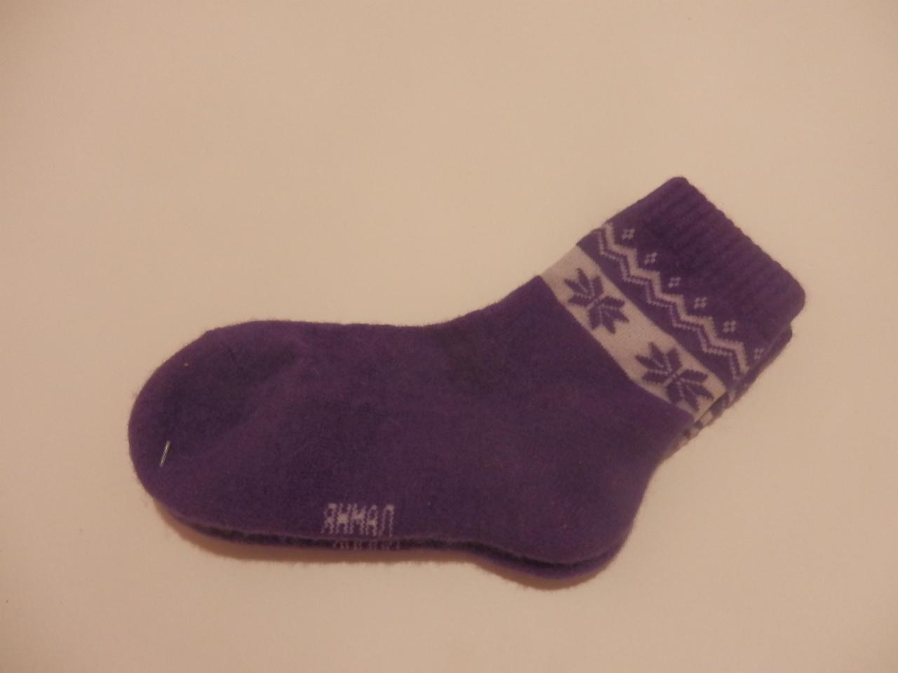 Носки  из верблюжьей шерсти подростковые фото 1