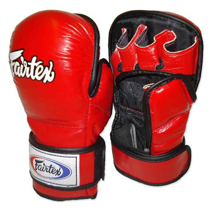 ММА перчатки Перчатки MMA Fairtex Sparring Gloves FGV15 Red 1.jpg