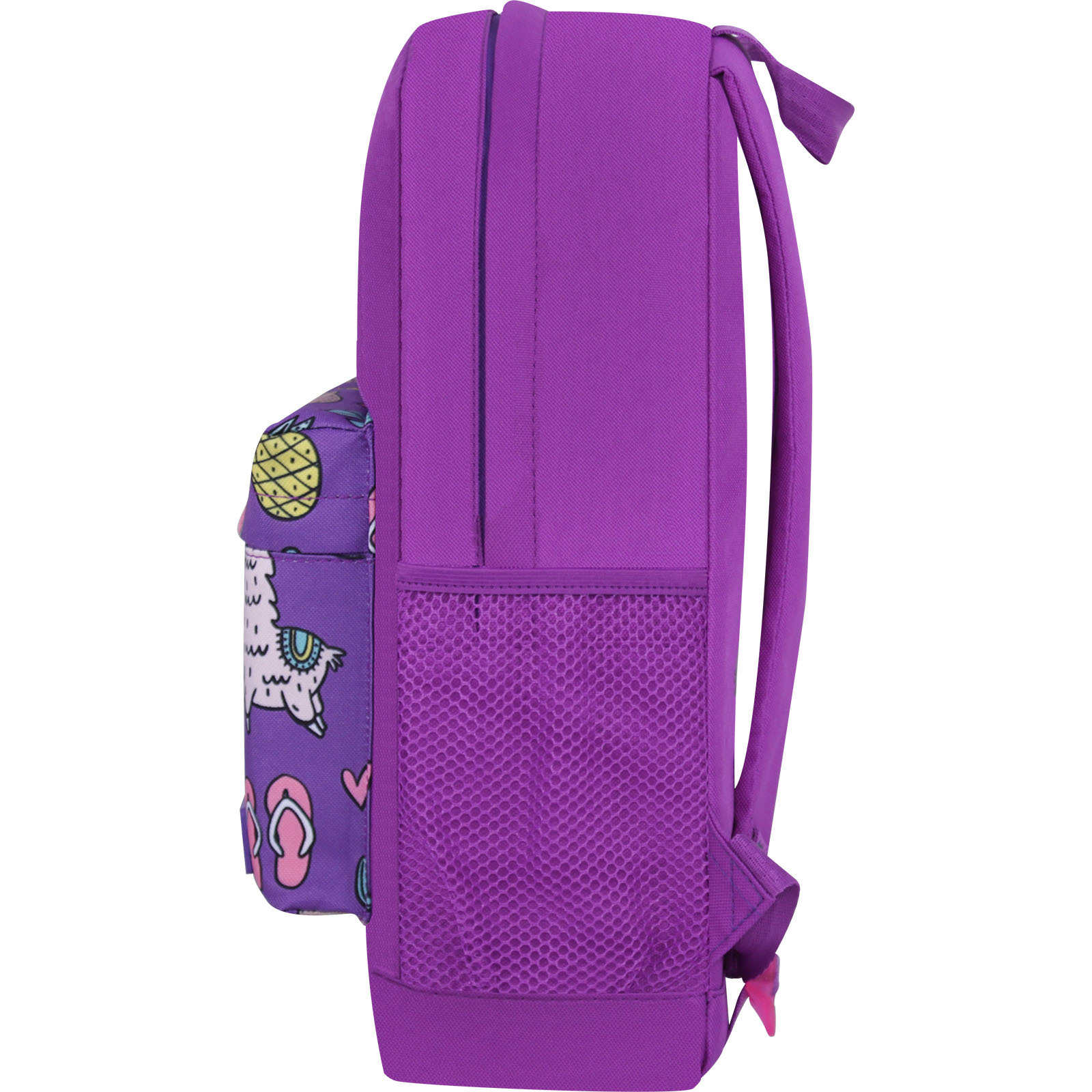 Рюкзак Bagland Молодежный W/R 17 л. 170 Фиолетовый 770 (00533662) фото 3