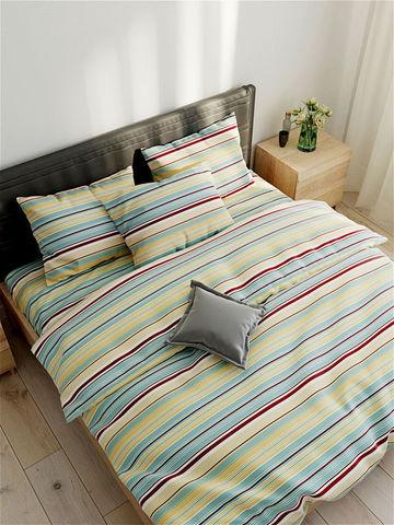 Простынь на резинке  -Восток- натяжная 160х200х26 см 2-спальная