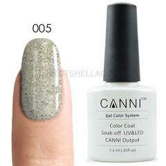Canni, Гель-лак № 005, 7,3 мл