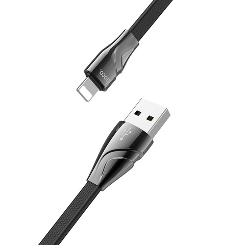 USB кабель HOCO U57 Twisting for Lightning
