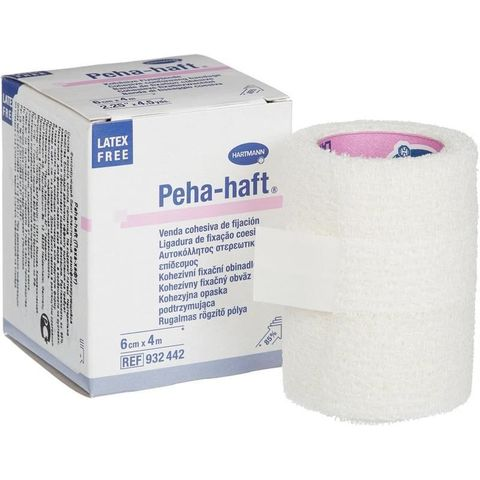 Самофиксирующийся бинт Пеха-Хафт, 4мх6см