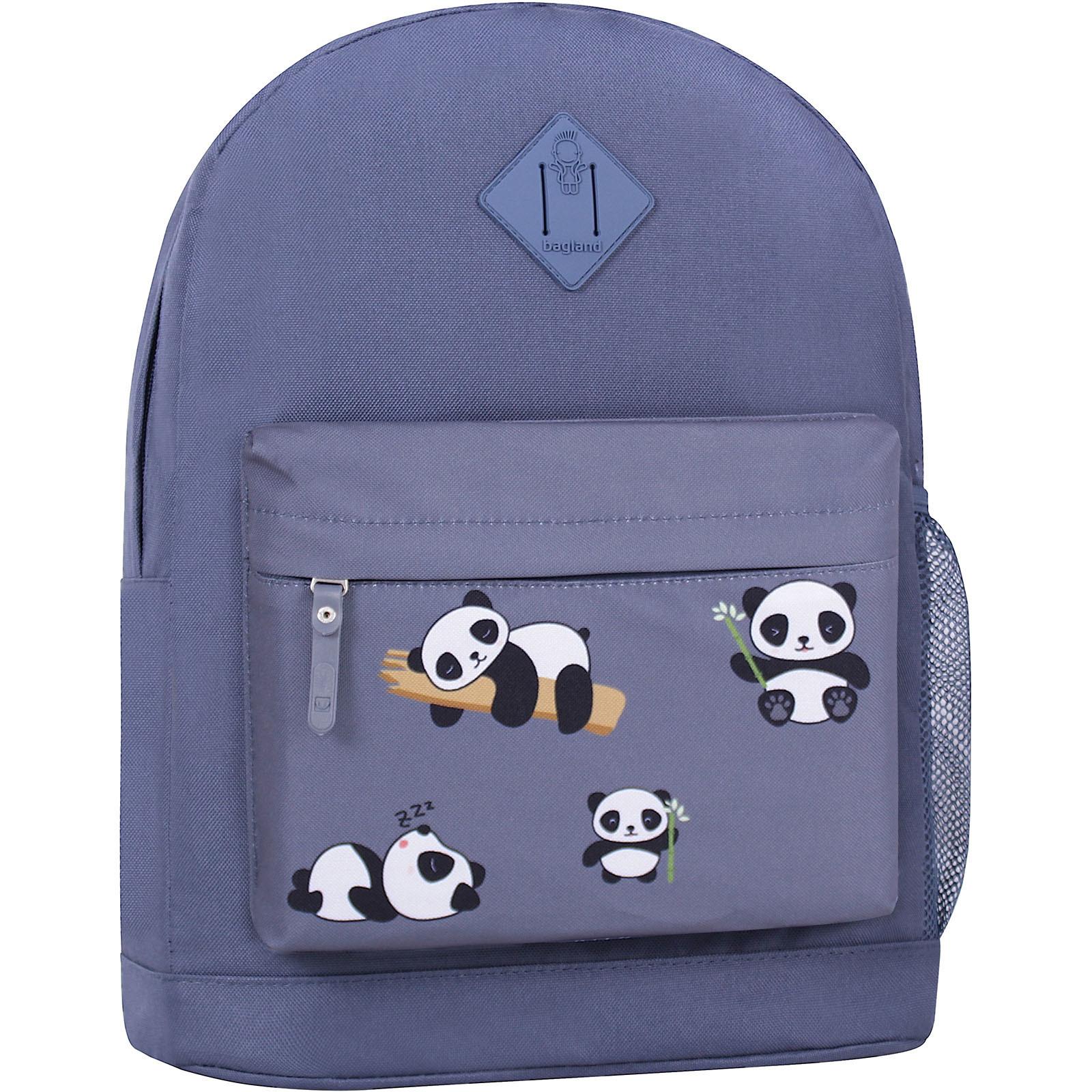 Молодежные рюкзаки Рюкзак Bagland Молодежный W/R 17 л. Серый 755 (00533662) IMG_6446_суб.755_.JPG