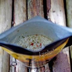Каша рисовая с овощами в zip пакете Здоровая еда', 70г