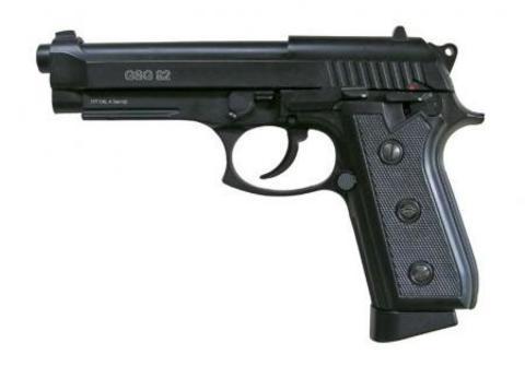 Пистолет пневматический Swiss Arms P92 (Beretta 92, GSG92) Blowback, металл