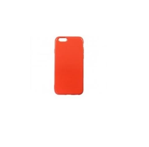 Чехол для iPhone 6/6S мягкий силикон | оранжевый