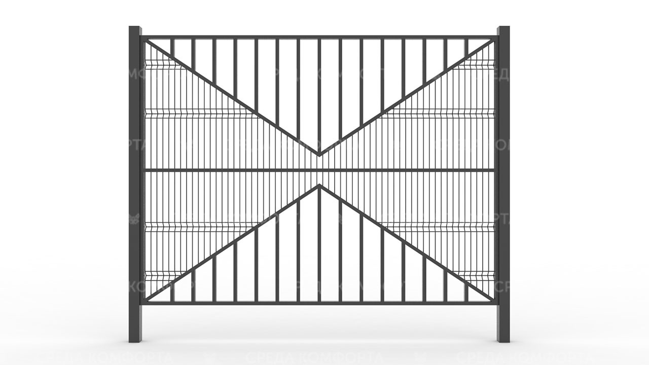 Забор 3Д ZBR0087