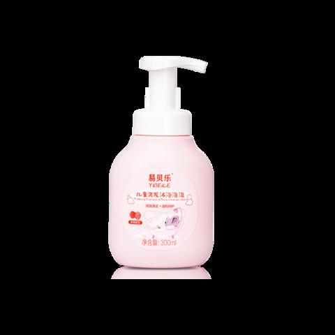Детская пена для ванн (аромат клубники) YIBEILE 300 мл