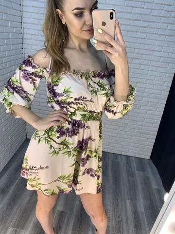 летнее платье на бретелях nadya