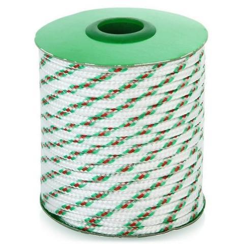 Шнур полипропиленовый плетеный 4мм 16пр.20м