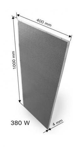 HARVIA ИК панель-излучатель Carbon 1000X400мм 380W, артикул WX455