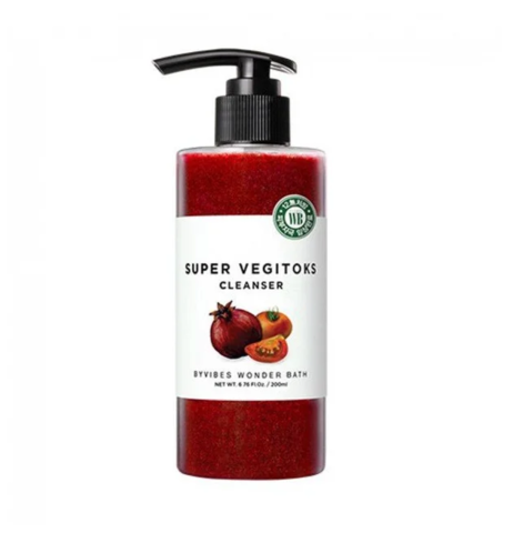 Детокс-Гель Для Жирной Кожи WONDER BATH Super Vegitoks Cleanser Red