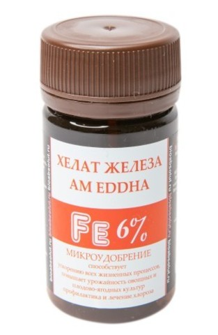 ХЕЛАТ ЖЕЛЕЗА АМ EDDHA Fe 6% микроудобрение 50мл