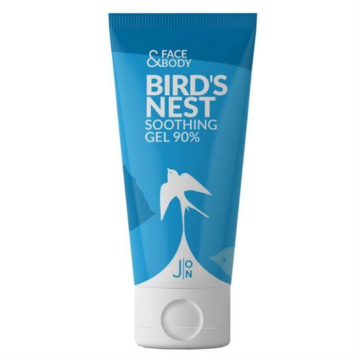 Гели для тела Гель для лица и тела универсальный ЛАСТОЧКА J:ON Face & Body Bird's Nest Soothing Gel 90% 200 мл 15137_0.jpg