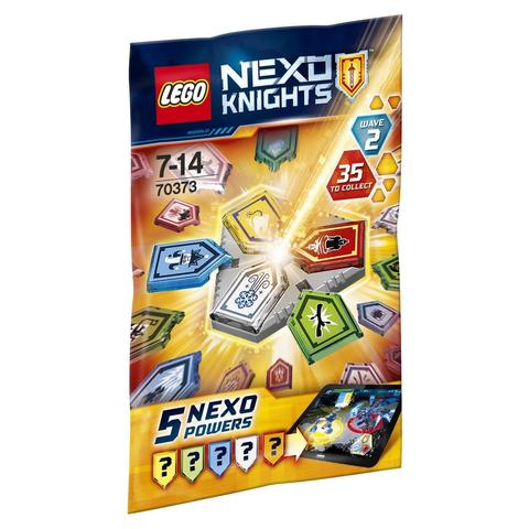 LEGO Nexo Knights: Комбо-силы NEXO 70373 — Combo NEXO Powers Wave 2 — Лего Нексо Рыцари