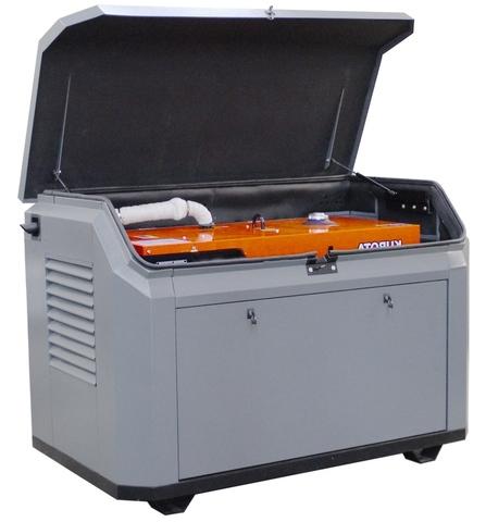 Всепогодный шумозащитный миниконтейнер для генератора, модель SB1700