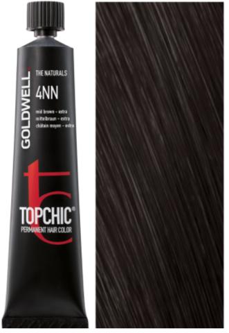 Goldwell Topchic 4NN средне-коричневый - экстра TC 60ml
