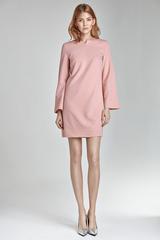 Платье S35 розовое