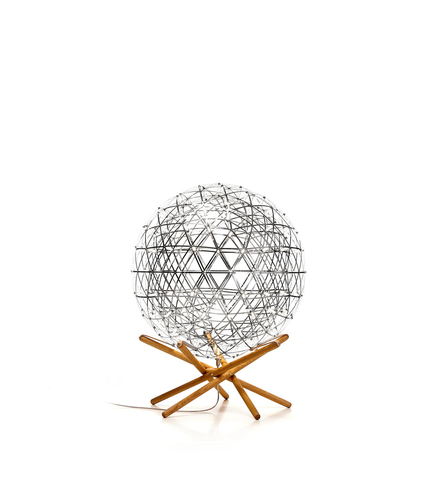 Напольная лампа копия  Raimond Tensegrity by Moooi (серебряный, D 61 cm)