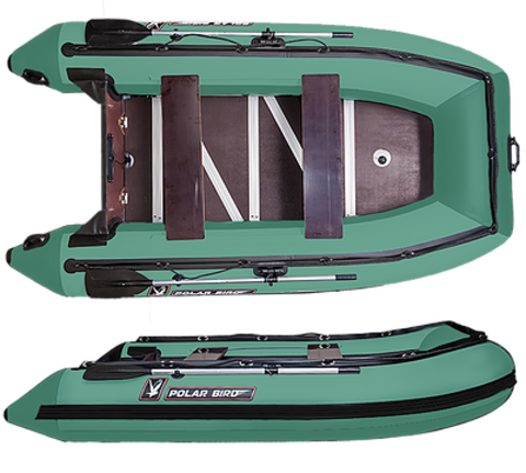 Лодка надувная Polar Bird 340 Merlin (Фанера)