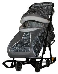 Санки-коляска Galaxy kids 1-1