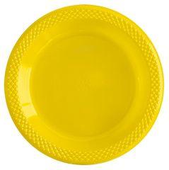 S Тарелки пластиковые 23 см