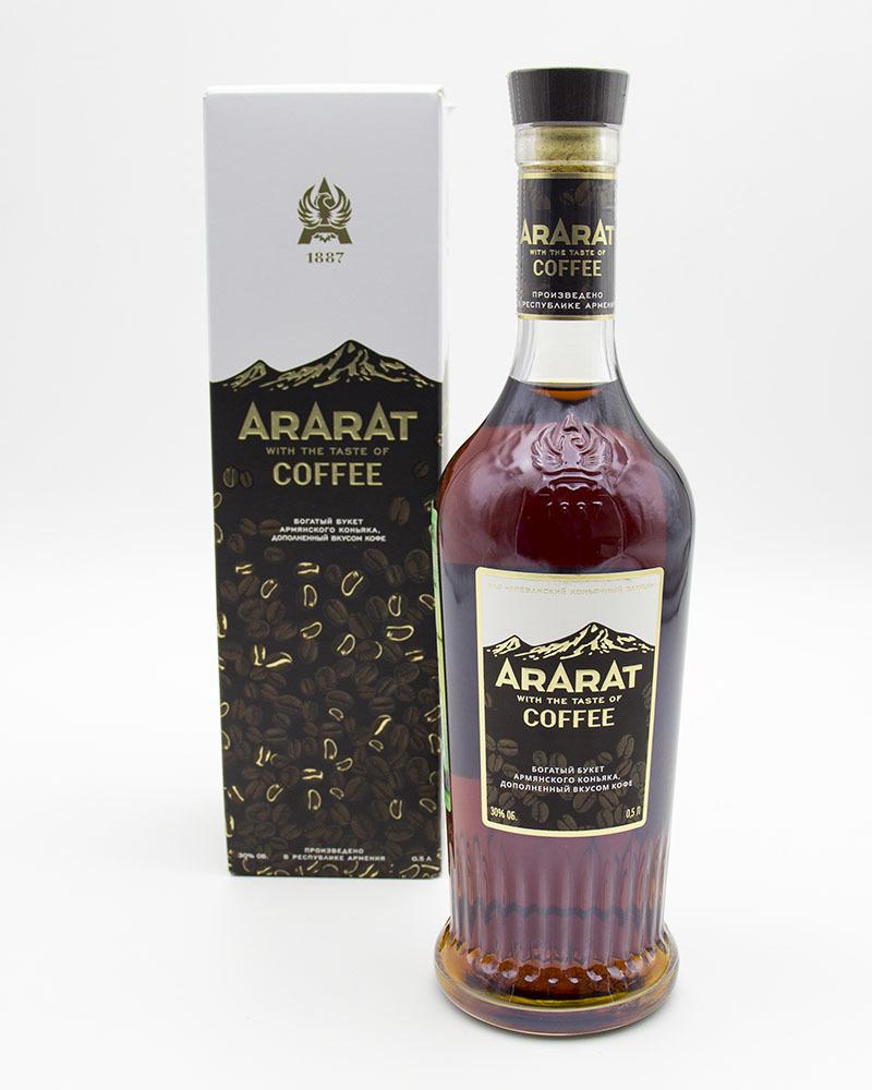 Коньяк Ararat со Вкусом Кофе