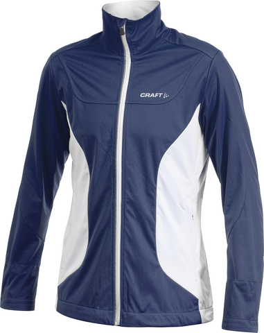 Куртка Craft Soft Shell женская тёмно-синяя