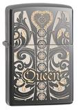 ZIPPO Queen Classic Black Ice 28797