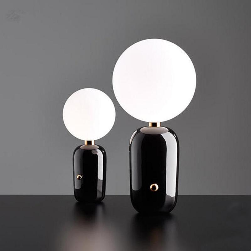 Настольный светильник Aballs  by Parachilna D24 (черный)