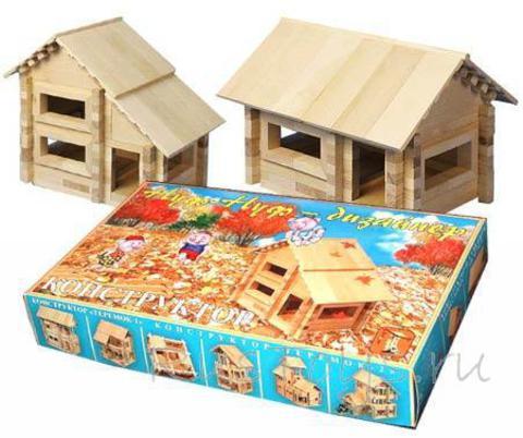 Конструктор деревянный домик Нуф-Нуф - дизайнер