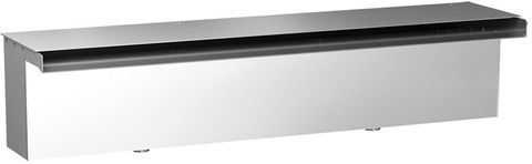 Накрывная крышка излива Film Waterfall Top Cover KW 1500.TC (KW-1500-TC) из нержавеющей стали 1500 мм