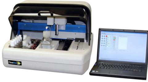 Автоматический биохимический анализатор для ветеринарии ChemWell-T 9 (до 100 тестов) ,Awareness Technology, Inc,США