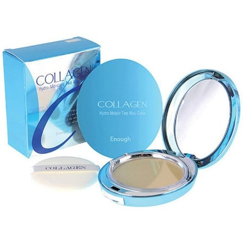 Пудра Enough Collagen Hydro Moisture Two way cake SPF25 , 13гр*2