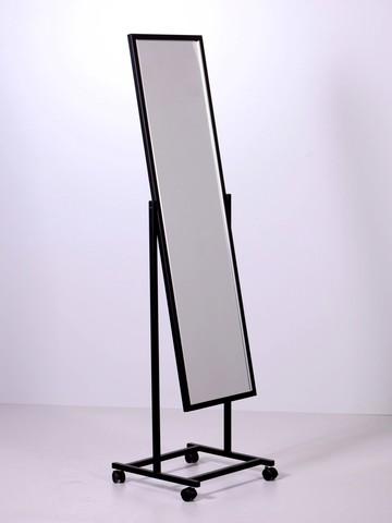 ТК-160-41 Зеркало напольное с колесами (черный)