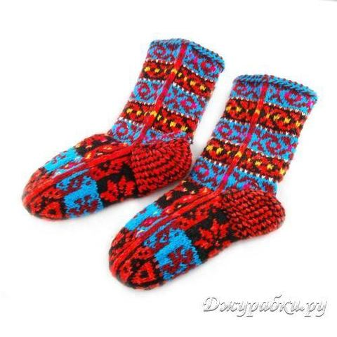 Женские теплые носки-джурабы 0055