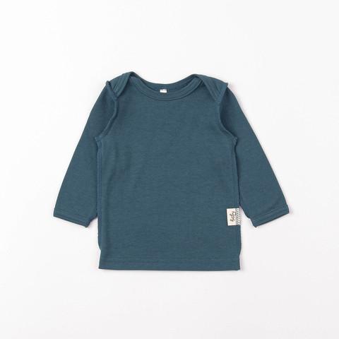Long-sleeved T-shirt 0+, Black Sea