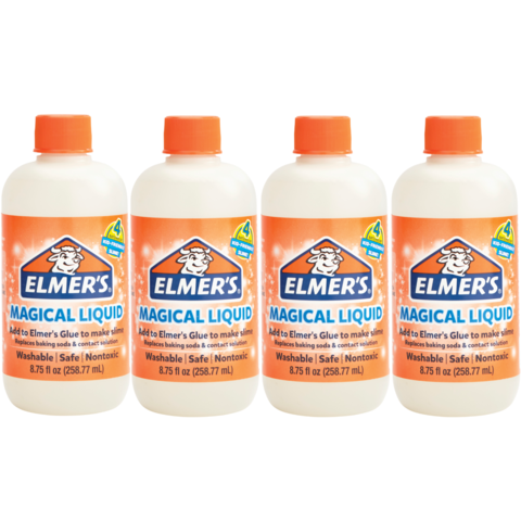 Загуститель активатор для слайма Elmer's Magical Liquid 259 мл х 4 шт