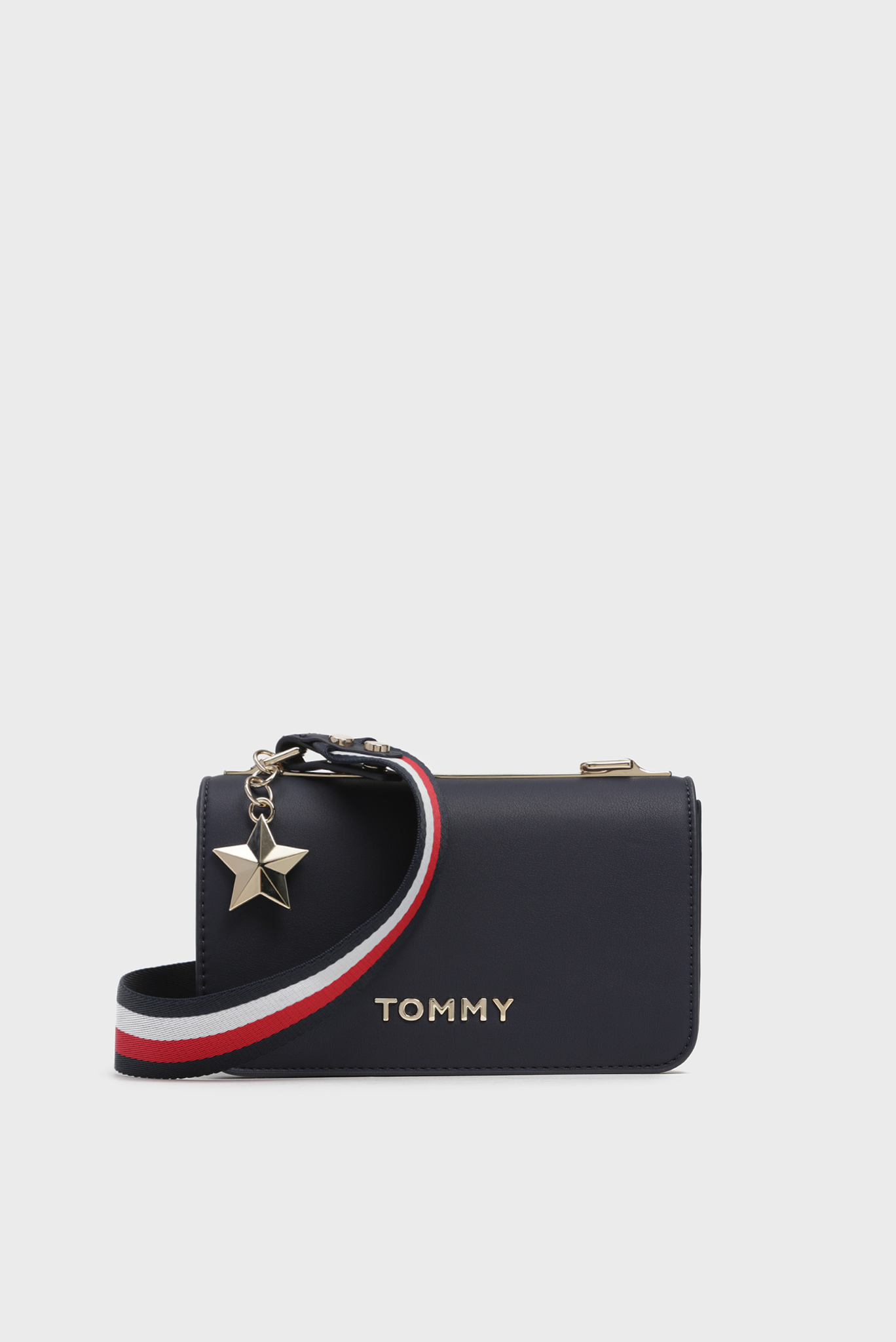 Женская темно-синяя сумка через плечо STATEMENT Tommy Hilfiger