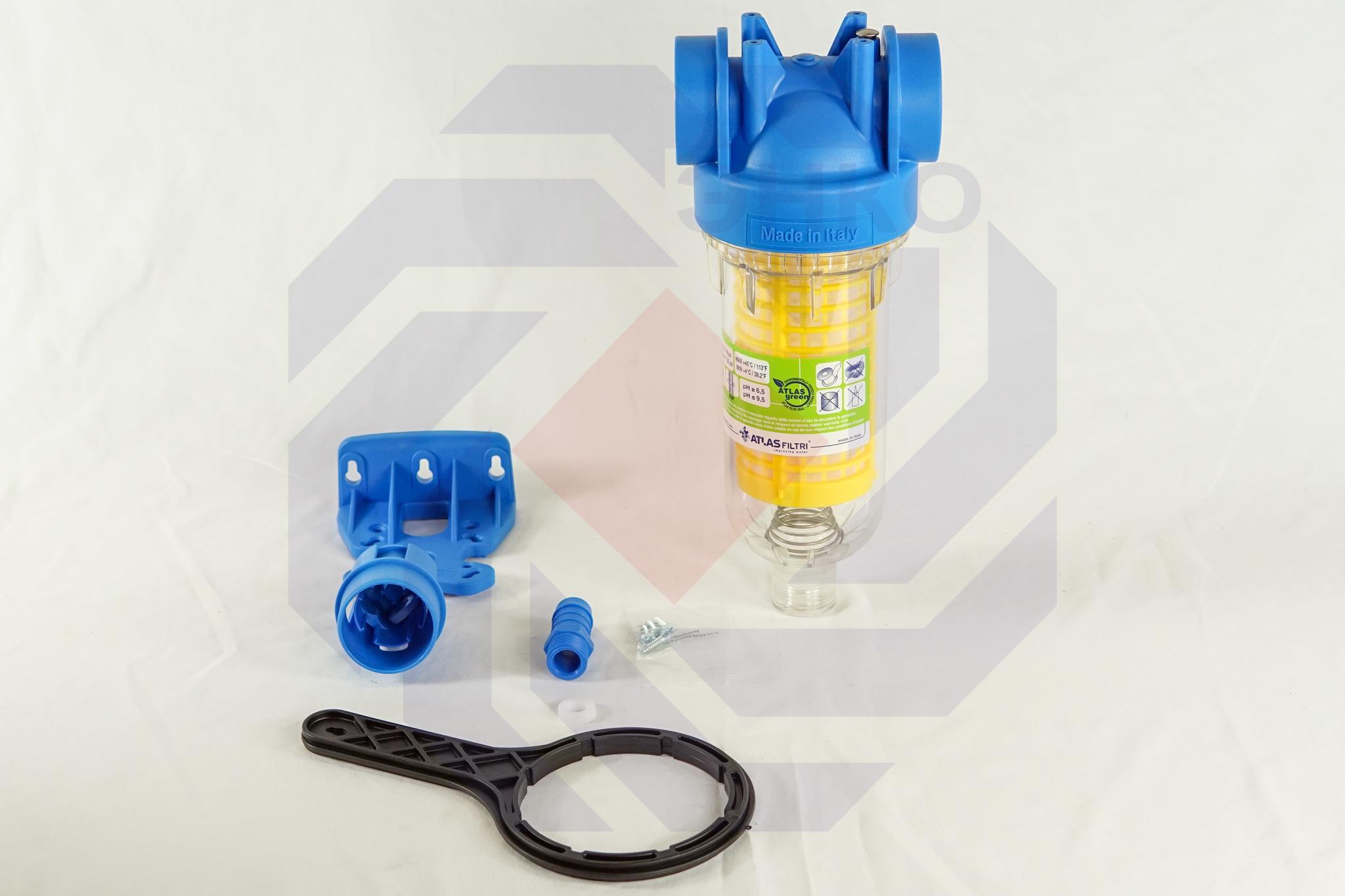 Фильтр для механической очистки самопромывающийся ATLAS HYDRA RLH 90 микрон 1¼