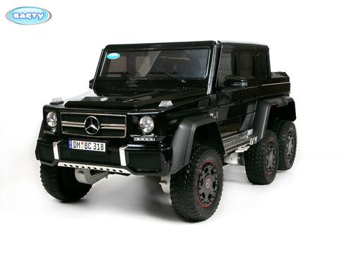 Электромобиль BARTY Mercedes-Benz G63-AMG 4WD шестиколесный черный