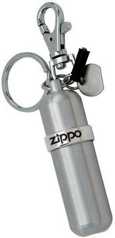 Баллончик для топлива Zippo Canistet, серебристый123