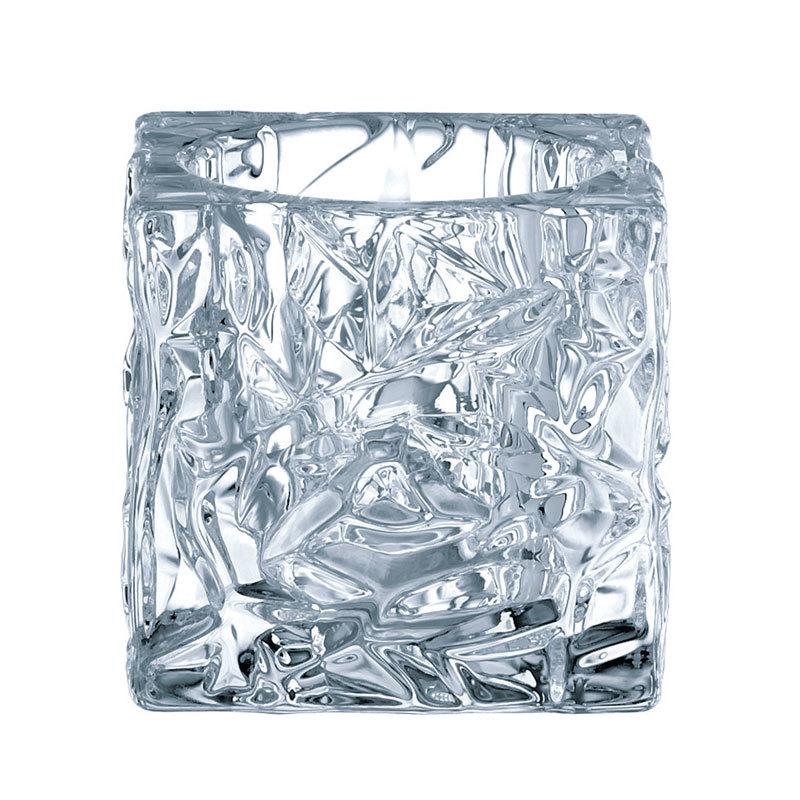 Набор хрустальных подсвечников 2шт, 7см,Ice Cube, Nachtmann