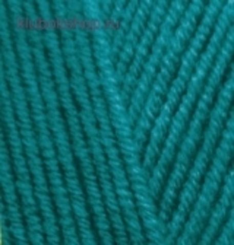 Alize Lanagold Павлиновая зелень 640 (5 шт.)